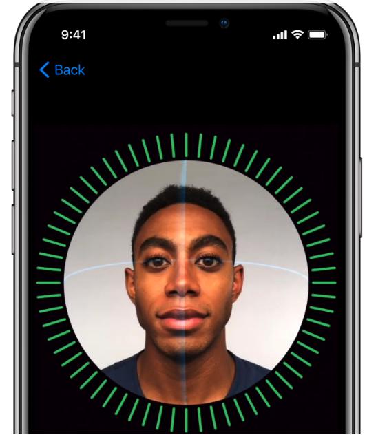 טכנולוגיית זיהוי הפנים Face ID